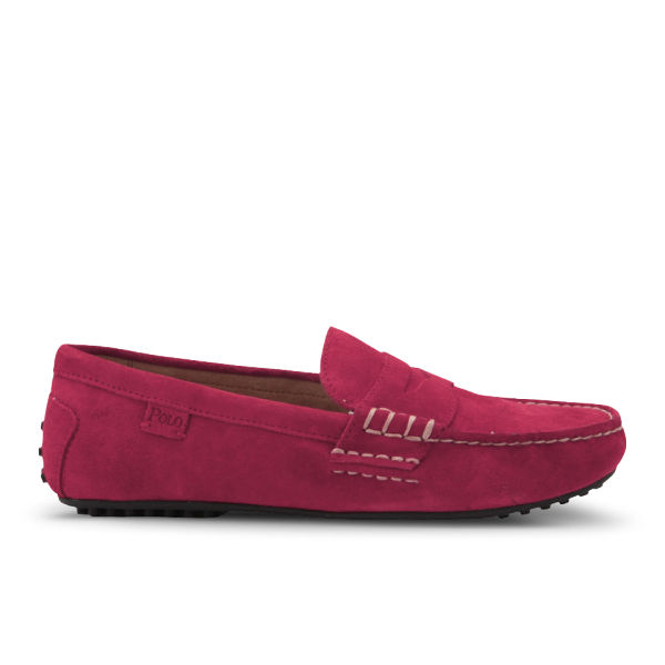 polo ralph s wes suede slip on shoes