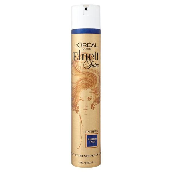 L'Oreal Paris Elnett Satin Hairspray - Supreme Hold (400ml)