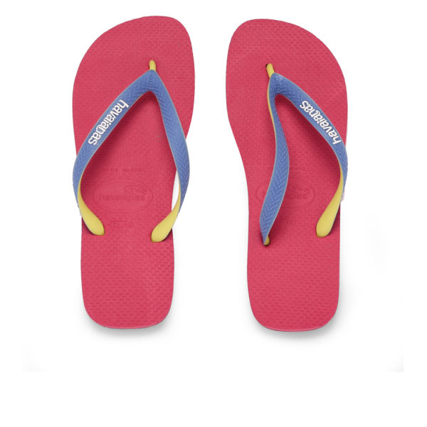 Havaianas Women's Top Mix Flip Flops - Neon Pink