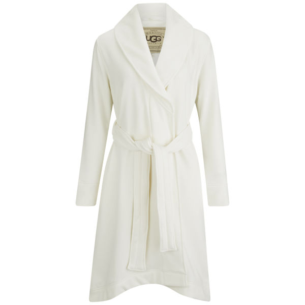 UGG Women s Heritage Comfort Duffield Dressing Gown - Cream  Image 1 1a6256936