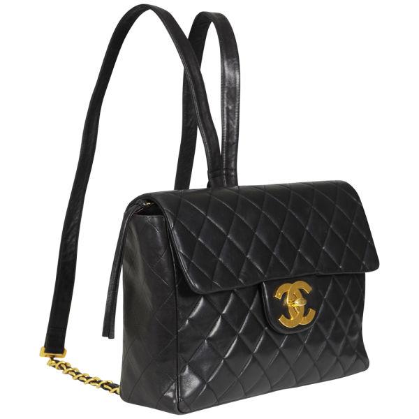 1d9af4319948 Chanel Vintage Leather Quilted Backpack  Image 2