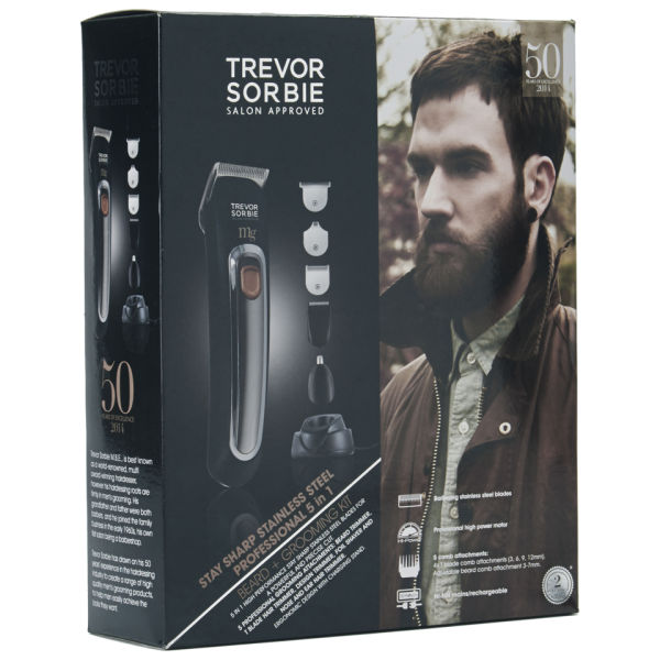trevor sorbie stay sharp carbon steel professional hair and beard grooming set free shipping. Black Bedroom Furniture Sets. Home Design Ideas