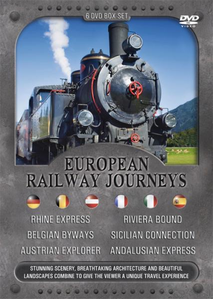 European Railway Journeys Dvd Box Set Dvd Zavvi