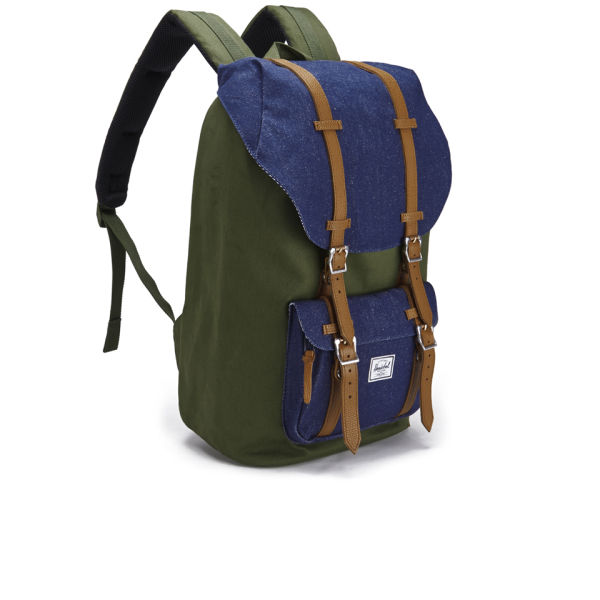 cf64651ccb0 Herschel Supply Co. Select Little America Backpack - Dark Army ...