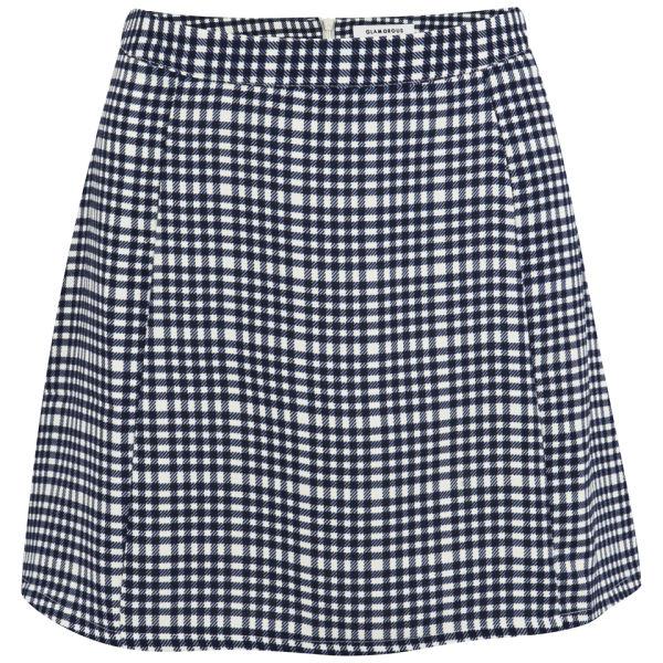 Glamorous Women's Coordinating Check Skirt - Blue