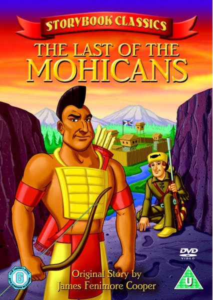 Storybook Classics Last Of The Mohicans Dvd Zavvi