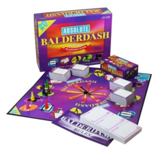 20th Anniversary Absolute Balderdash Board Game Toys