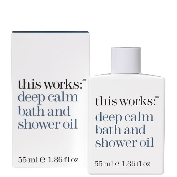 This Works DEEP CALM BATH & SHOWER OIL 55ML