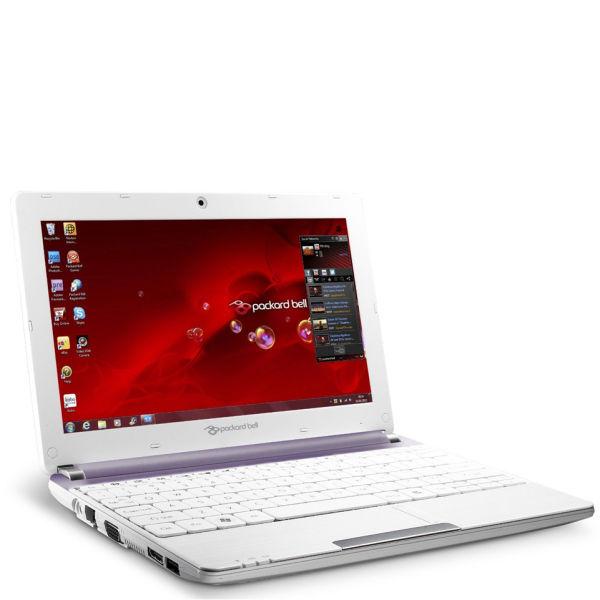 Packard Bell Dot 10 1 Inch Sc Atom Netbook N2600 1gb Ram