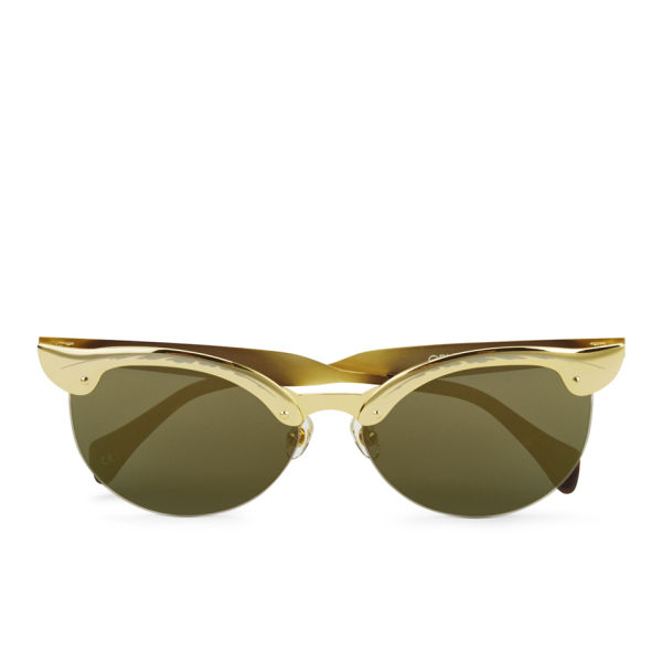 Wildfox Crybaby Deluxe Sunglasses - Gold