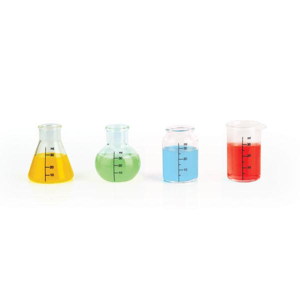 Mixology Chemical Shot Glasses - Set of 4