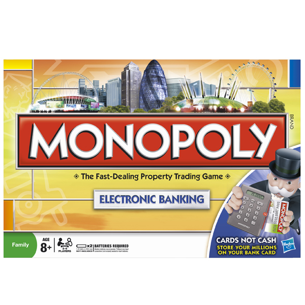 Monopoly Here And Now Electronic Banking Edition Toys