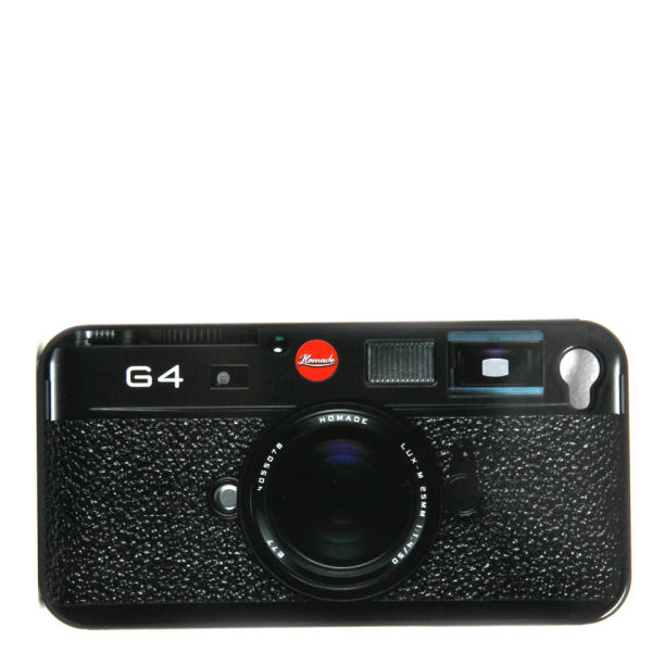 G4 Camera Styled Cover for iPhone 4