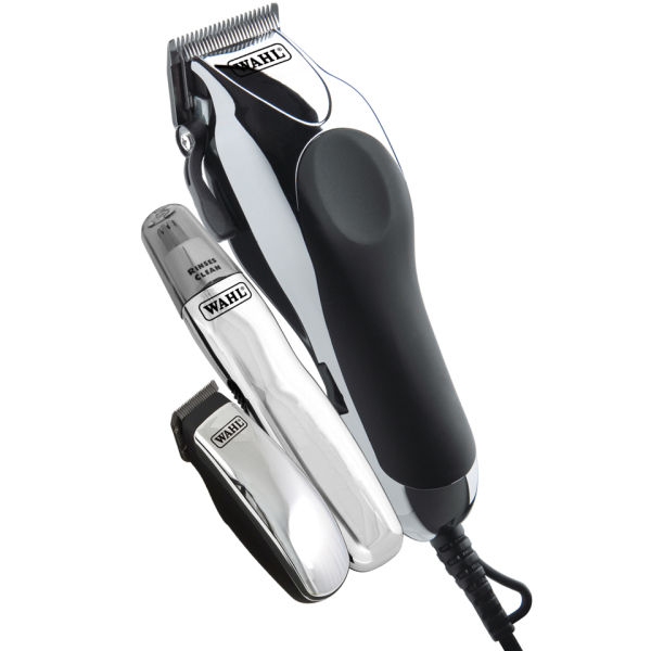 Maquinilla Wahl Deluxe Chrome Pro red Clipper