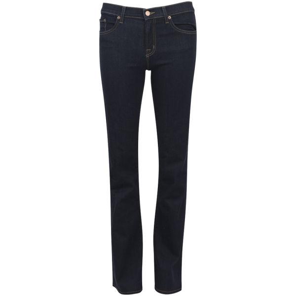 J Brand Women's Mid Rise Slim Boot Leg Jeans - Starless