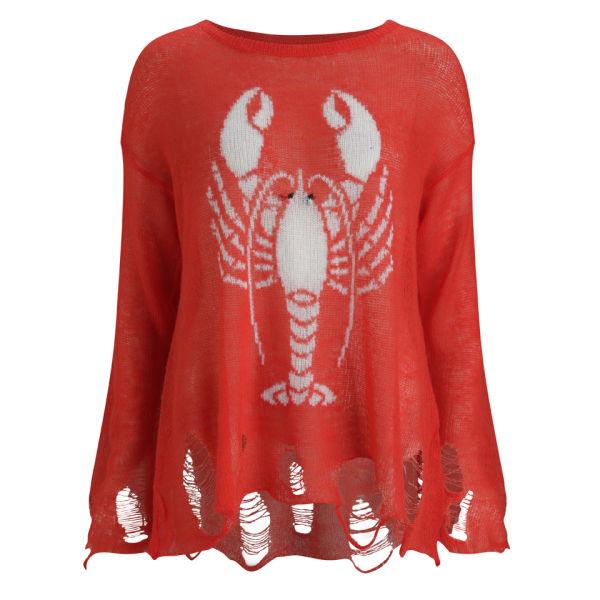 Wildfox Women's Lobster Jumper - Lifeguard