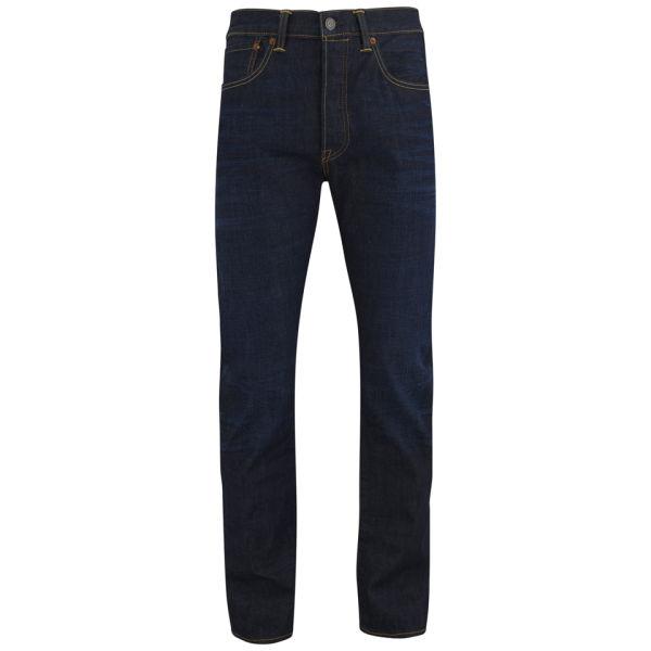 5eed8a3948686 Levi s Men s 501 Original Fit Jeans - Blue Mens Clothing