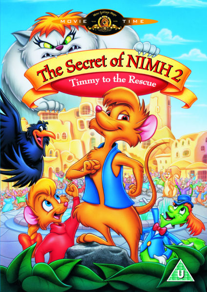 The Secret Of Nimh 2: Timmy To The Rescue DVD | Zavvi The Secret Of Nimh Timmy To The Rescue