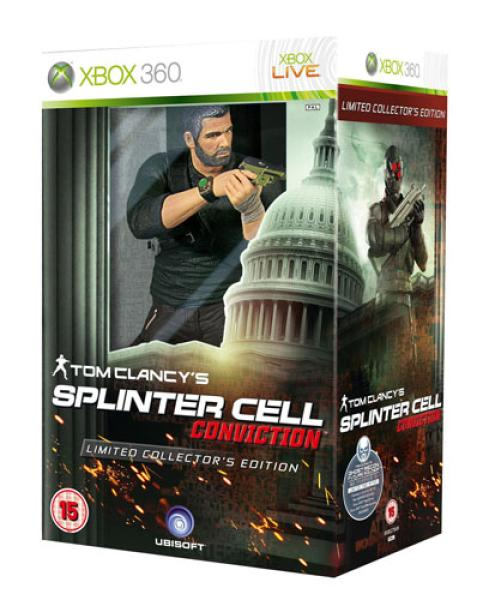 tom clancy u0026 39 s splinter cell  conviction  limited edition  xbox 360