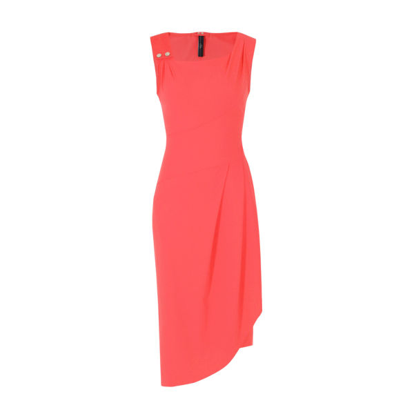HIGH Women's Silhouette Dress - Coral