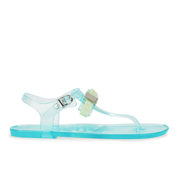 6a5284219 Ted Baker Women s Deynaa Jelly Bow Sandals - Light Green  Image 1