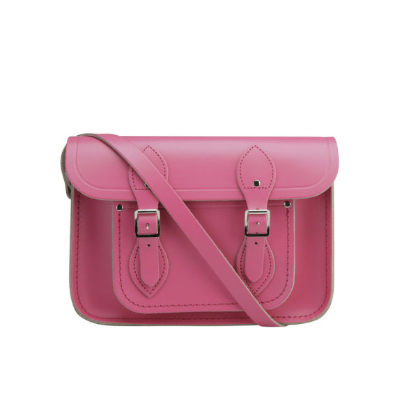 The Cambridge Satchel Company 11 Inch Classic Leather Satchel - Orchid