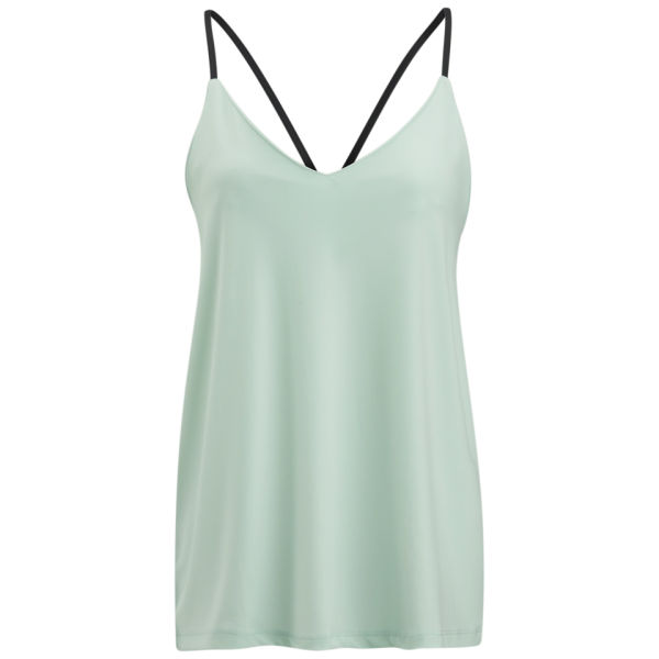 VILA Women's Mortal Cami Top - Fair Aqua
