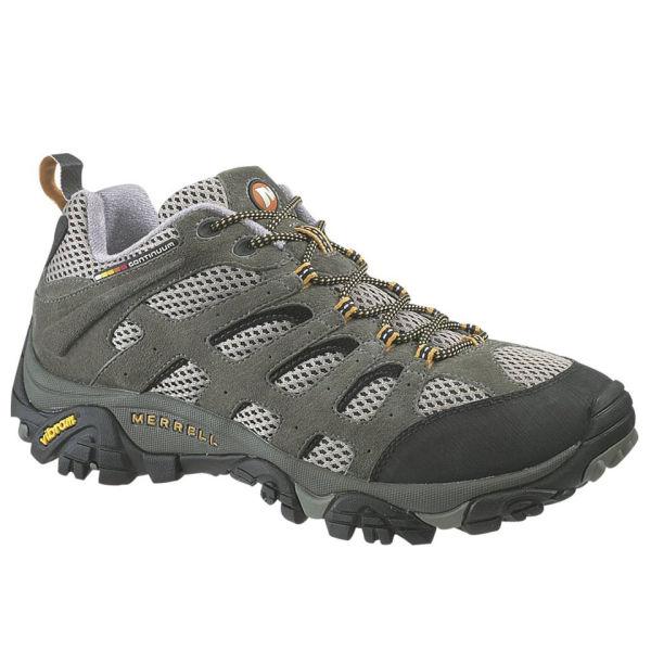 Merrell Men's Moab Ventilator Hiking Shoes - Walnut