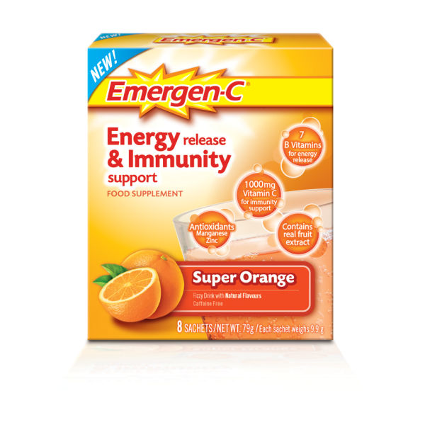 Emergen-C Orange Pack (8 raciones)