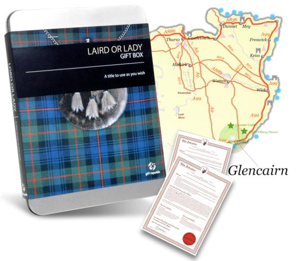 Laird or Lady of Glencairn Gift Box