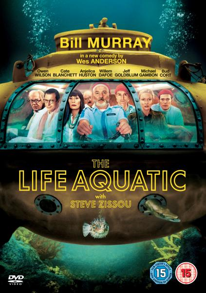 The Life Aquatic With Steve Zissou Dvd Zavvi