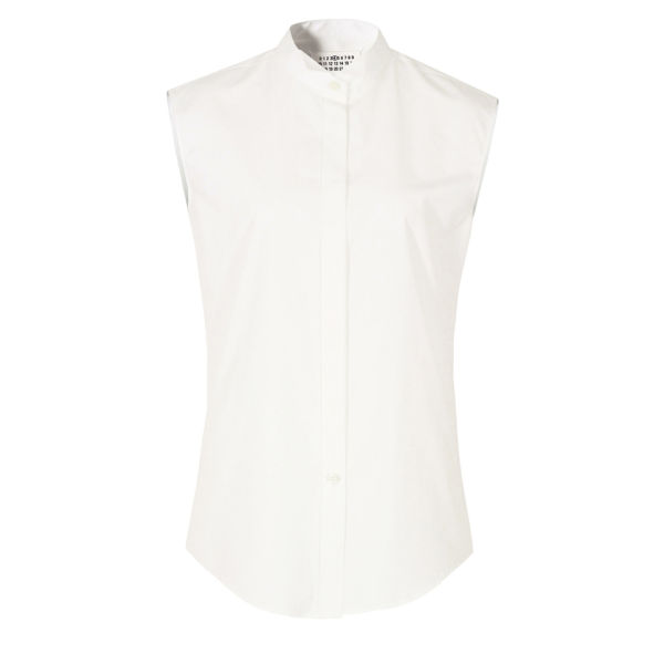 Maison Martin Margiela Women's S31DL0177 S37105 Shirt - White