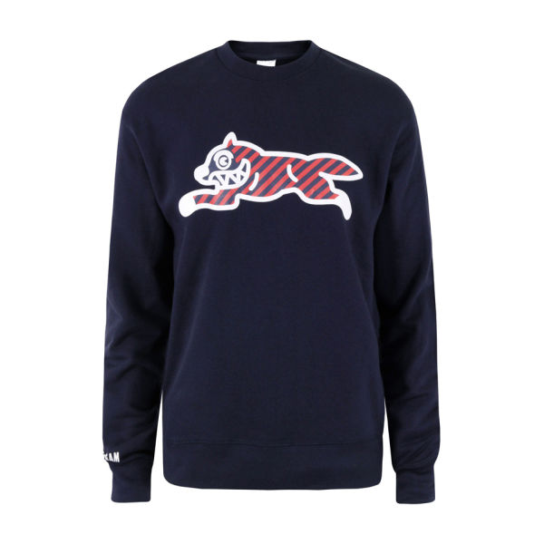 Ice Cream Men's Running Dog Crew Sweat - Navy