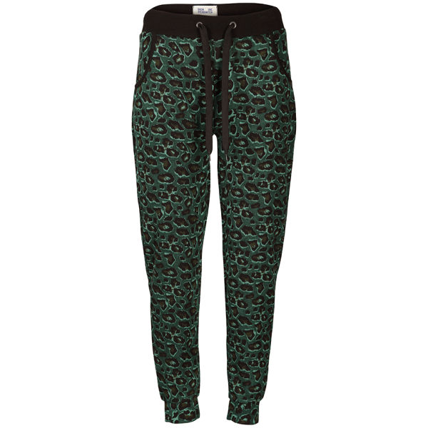Baum und Pferdgarten Womens Elan Pants - Green Leopard