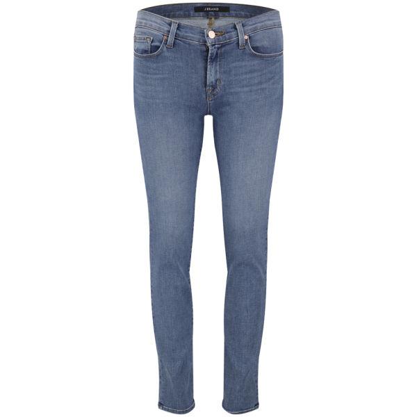 J Brand Women's Mid-Rise 11 Inch Skinny Leg Jeans - Pico
