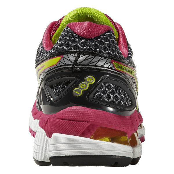 d5c1bd300ddc ... netherlands asics womens gel kayano 20 trainers black lime raspberry  image 5 a7267 3e6df