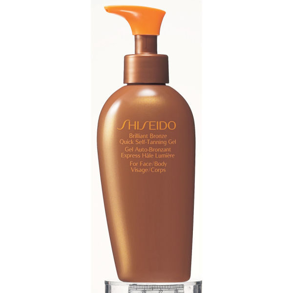 Shiseido Brilliant Bronze Hurtig Selvbruning Gel (150ml)