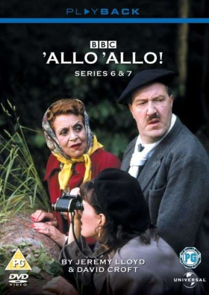 Allo Allo Series 6 And 7 Dvd Zavvi