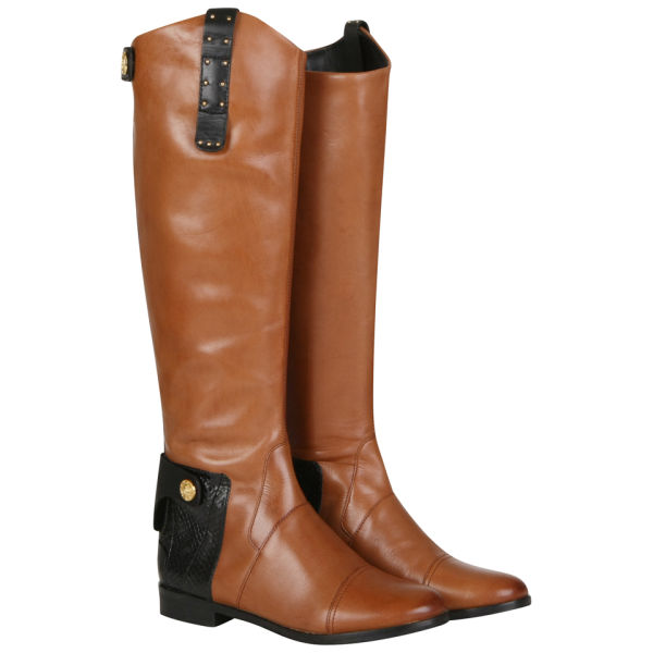 Sam Edelman Women's Dara Knee High Boots - Tan