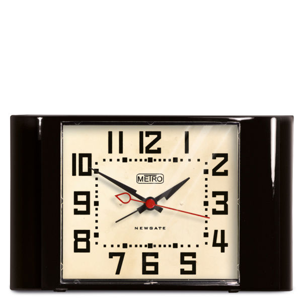 Mini Metro Clock - Black