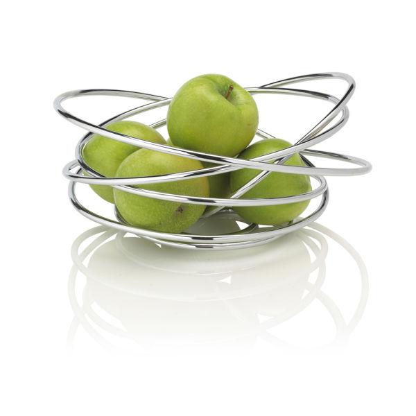 Black+Blum Loop Fruit Bowl - Chrome