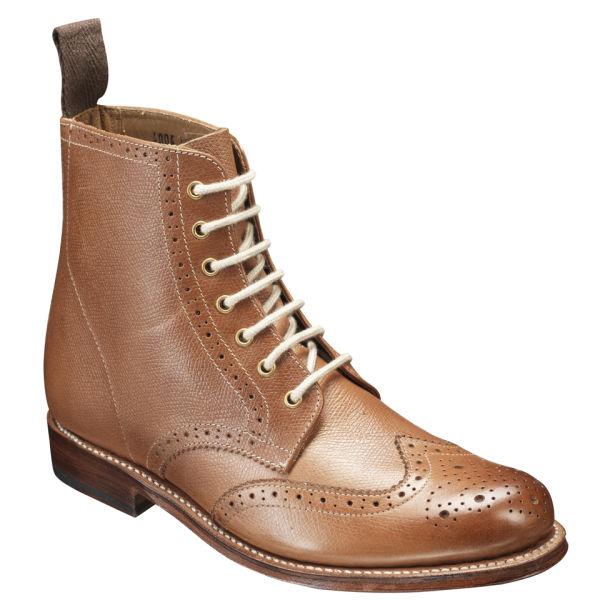 grenson women u0026 39 s ella brogue boots - tan