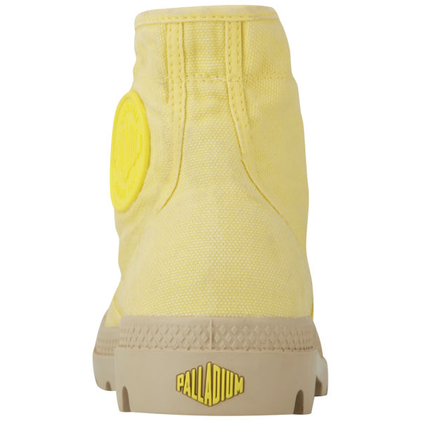 Original Palladium Baggy Fold Down Boots In Yellow For Men  Lyst