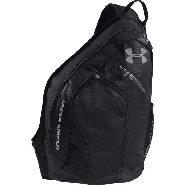 Under Armour Unisex Compel Sling Bag - Black/Steel | ProBikeKit Canada