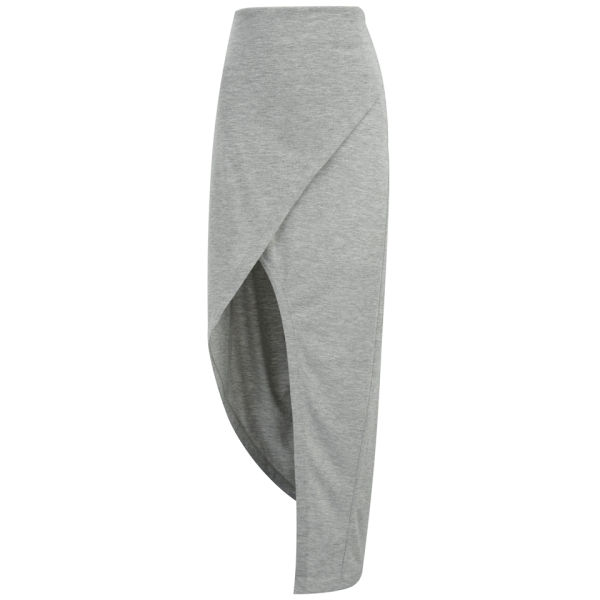Finders Keepers Women's Seen It All Maxi Skirt - Grey Marl