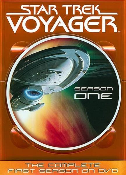 Star Trek Voyager Season 1 Slims Dvd Zavvi