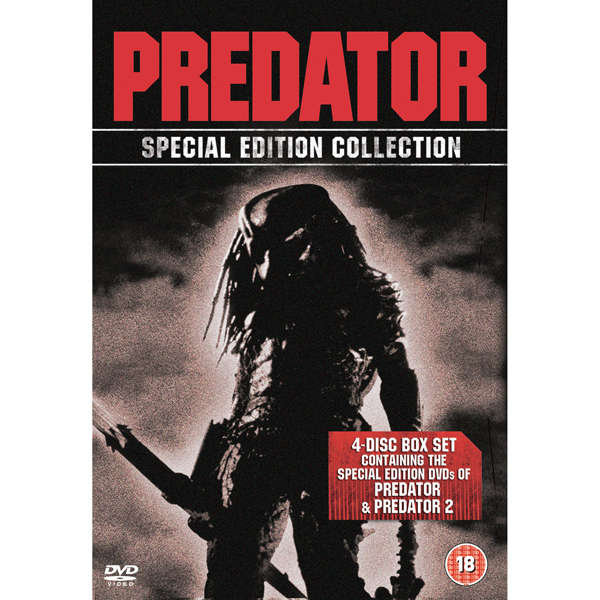 Predator 1 & 2 [Special Edition 4 Disc Box Set] DVD