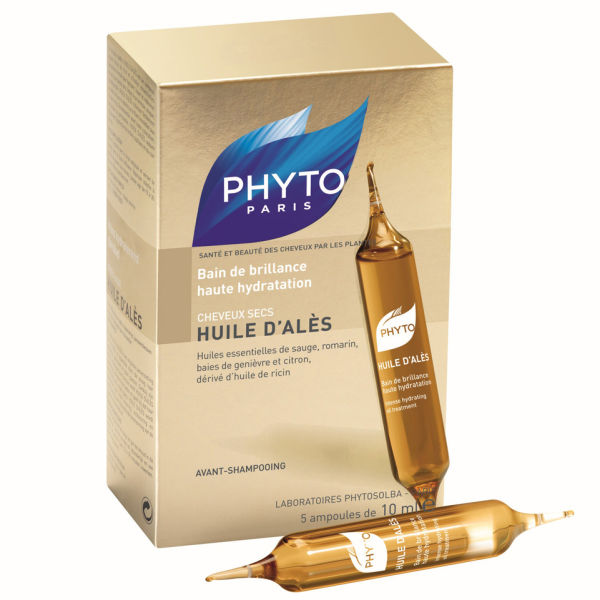 Phyto Huile D'Ales Hydrating Oil Treatment 5x0.33 fl oz