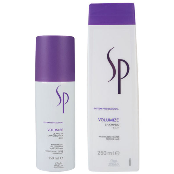 Wella SP Volumize Duo - Shampoo and Leave-In Conditioner