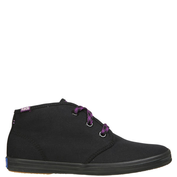 Keds Women's Champion Chukka Canvas Boots - Black